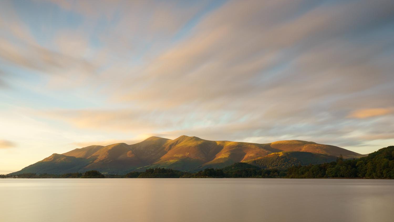 Derwent Water Sunset by Chris Wright