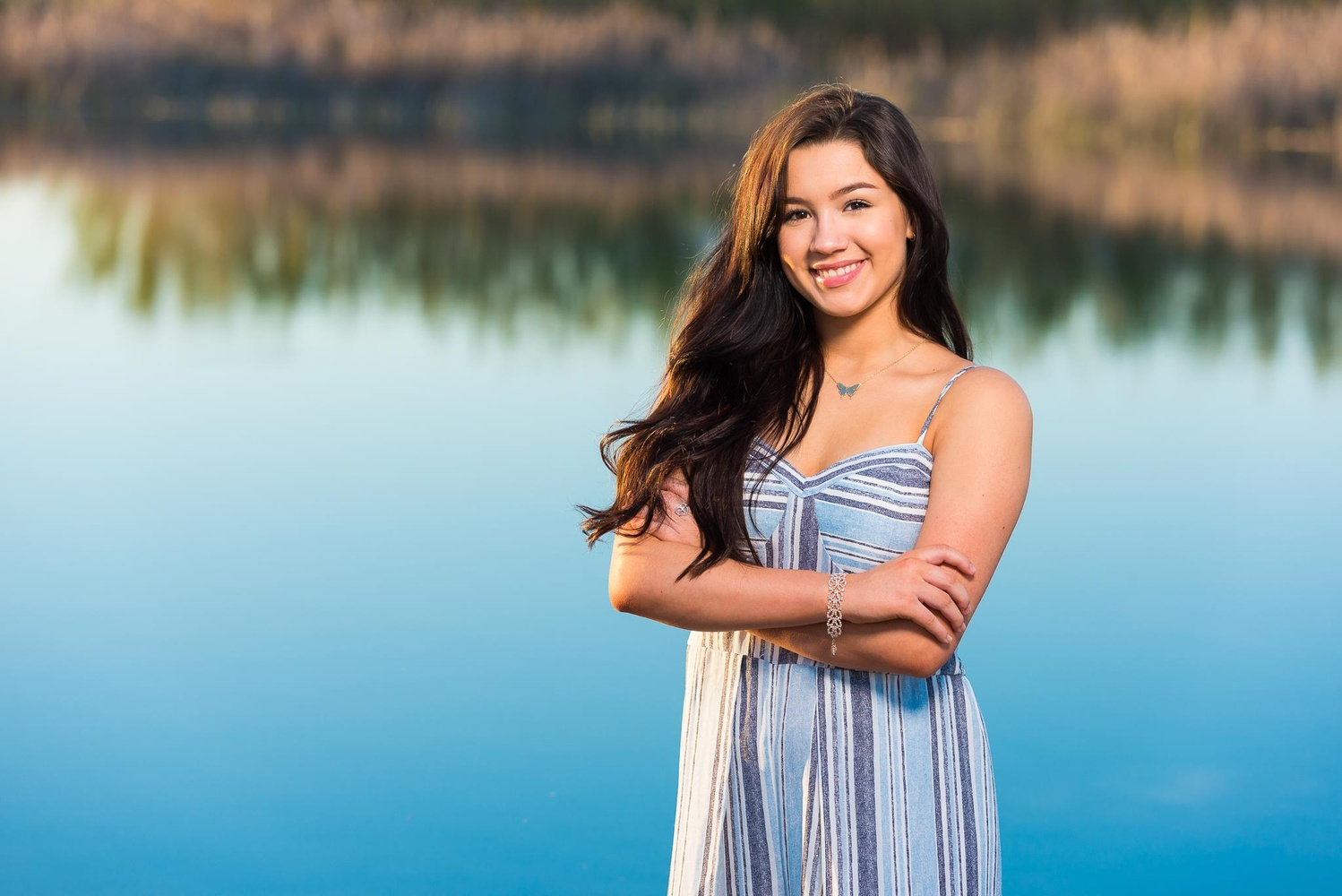 Outdoor Senior Portrait by Dusty Wooddell