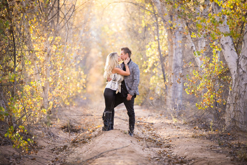 Fall Engagement Sessions by Dusty Wooddell