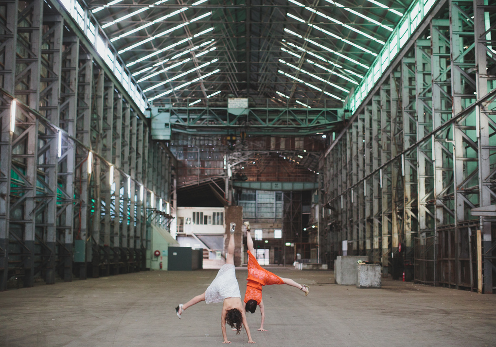 cartwheels of happiness by Rachael Muller