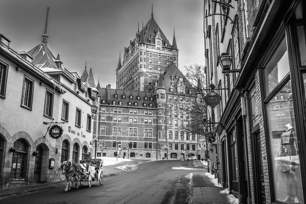 Chateau Frontenac by Anders Rosqvist