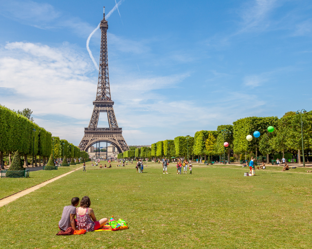 Picnic at the Eiffel Tower by Anders Rosqvist