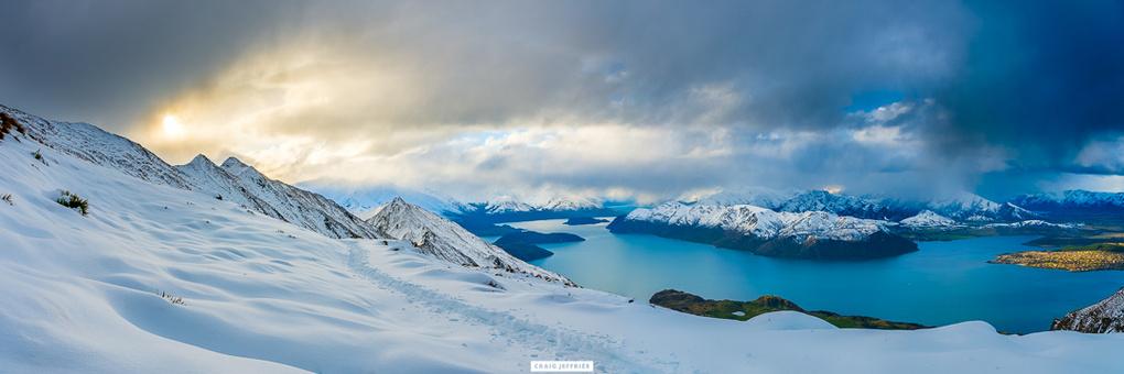 Trekking Mount Roy by Craig Jeffries