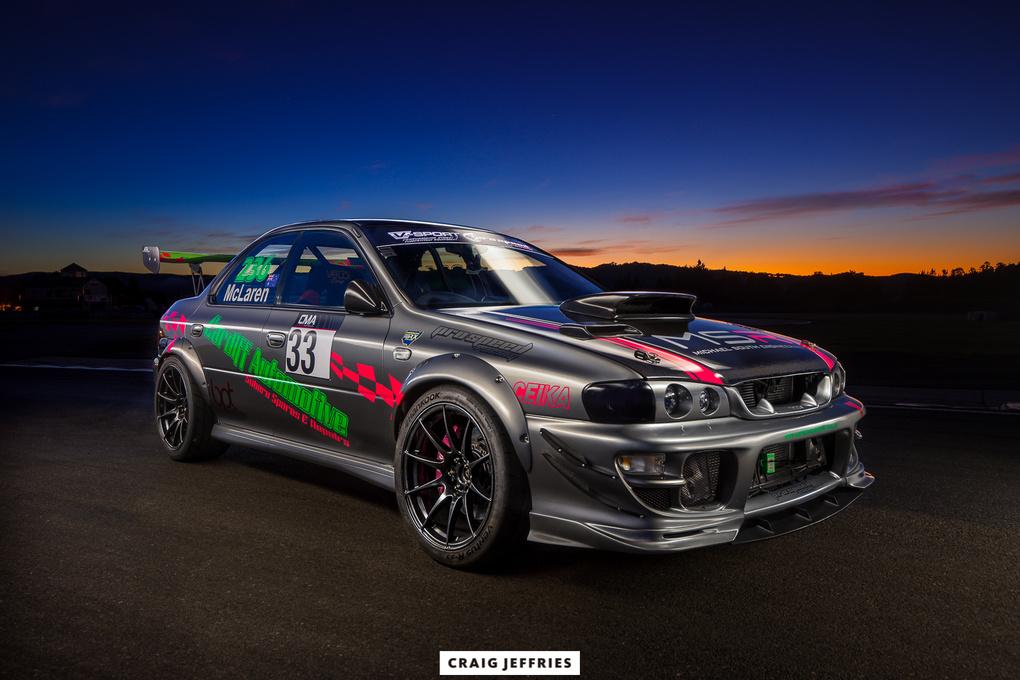 Subaru Impreza WRX by Craig Jeffries