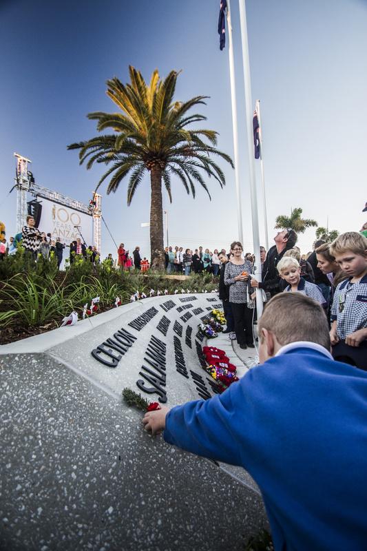 ANZAC centenary by Henry Baskerville