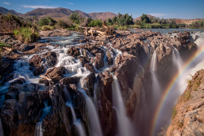 Epupa Falls by Andrea Re Depaolini