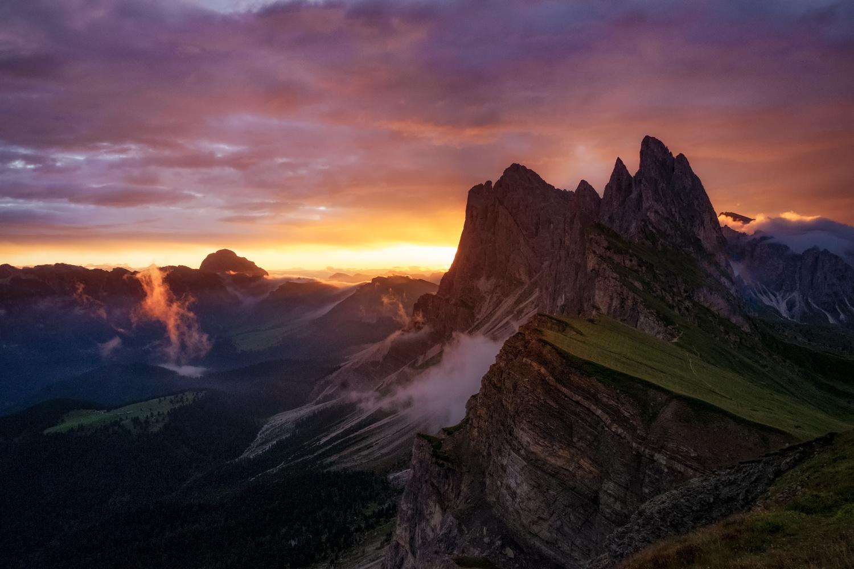 Perfect sunrise by Andrea Re Depaolini