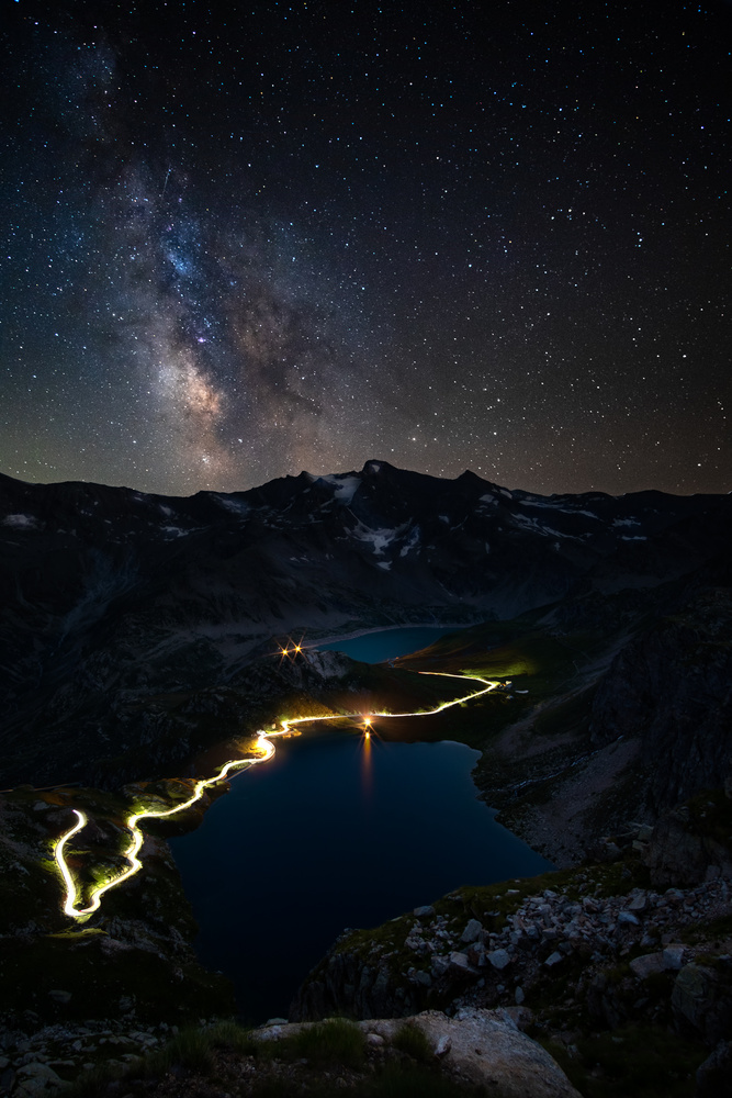 Alpen Lakes by Andrea Re Depaolini