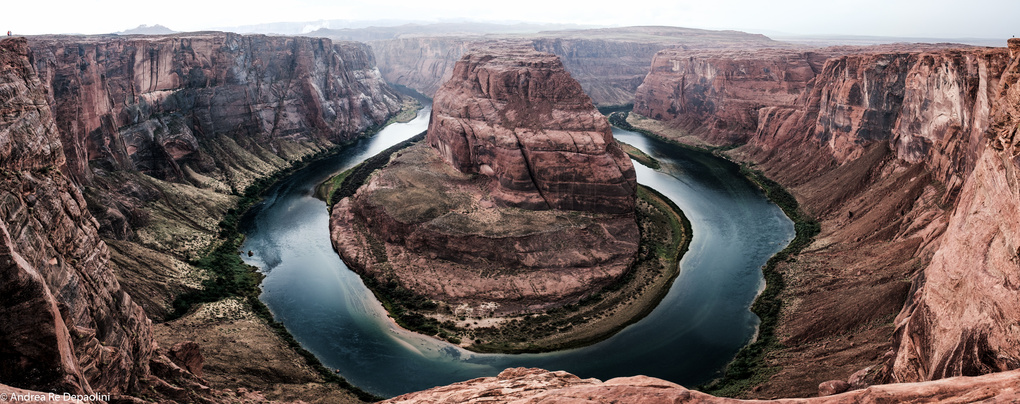 Horseshoe Bend by Andrea Re Depaolini