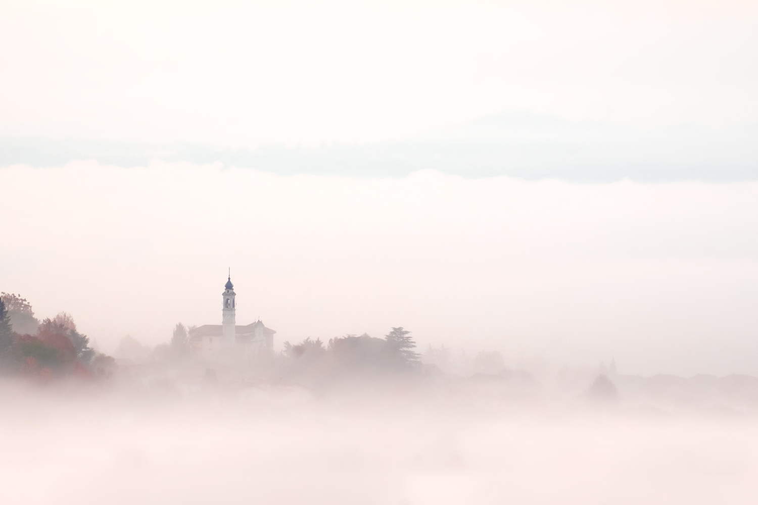 Foggy Morning by Andrea Re Depaolini