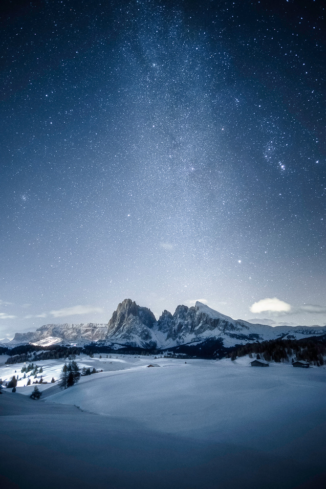 Winter Milky Way by Andrea Re Depaolini