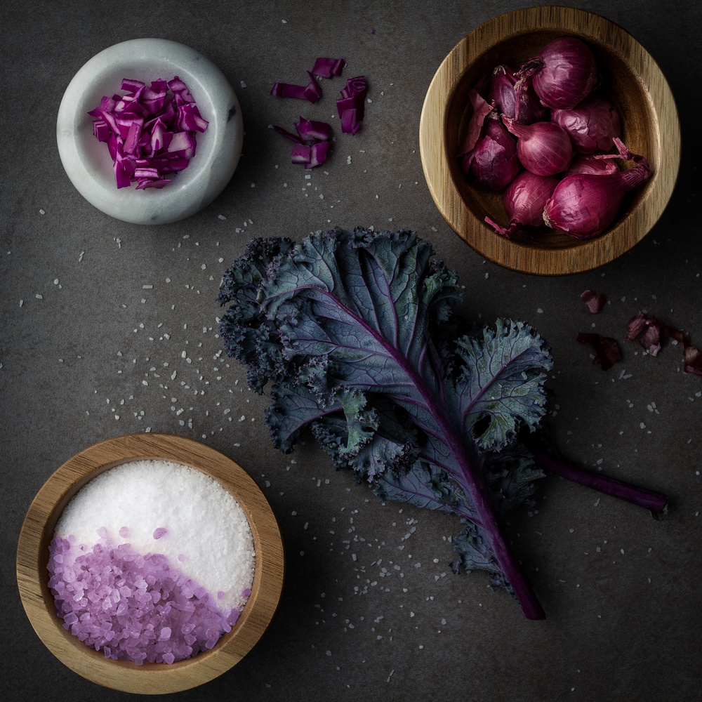Purple Food by Tim Pumphrey