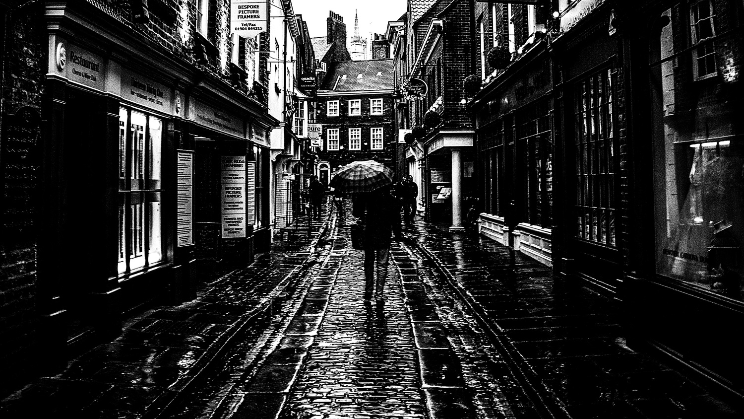 Rainy days in York by Shawn Anderson