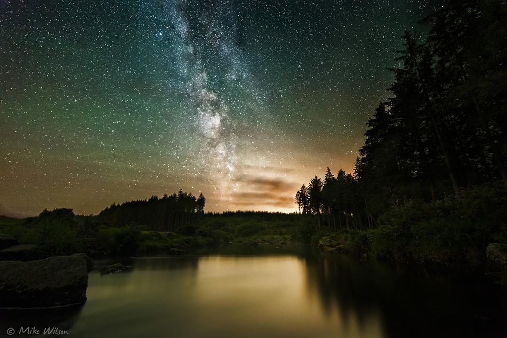 Bellever Milky Way by Mike Wilson