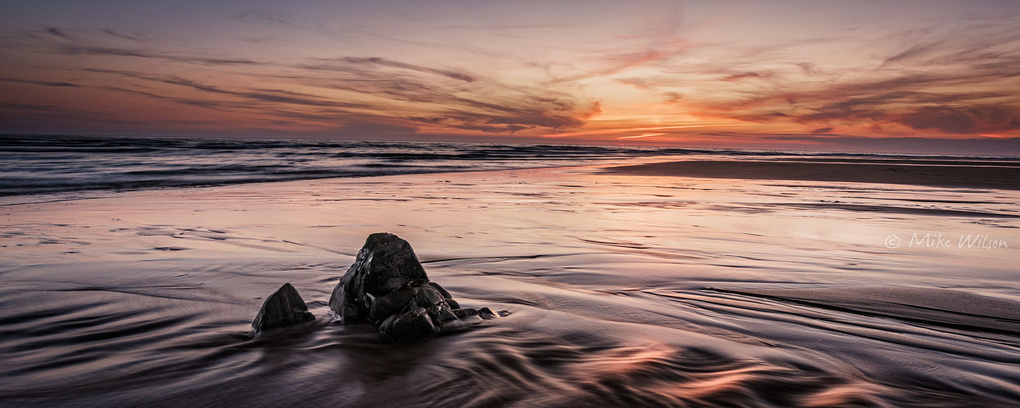 Northcott Sunset by Mike Wilson