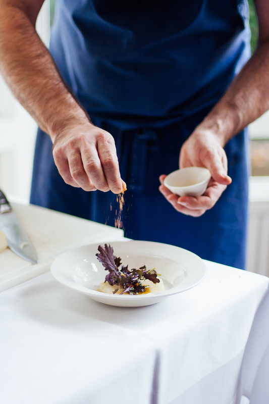 Chef at work by Desmond Gerritse