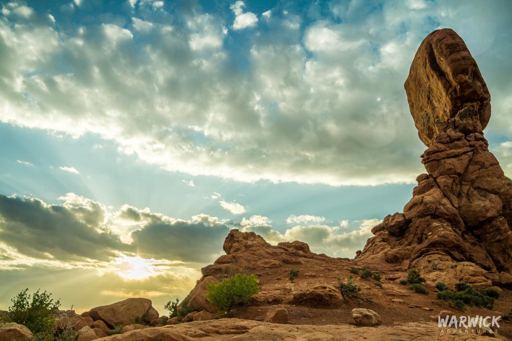 Arches NP - Balanced Rock by Troy Warwick