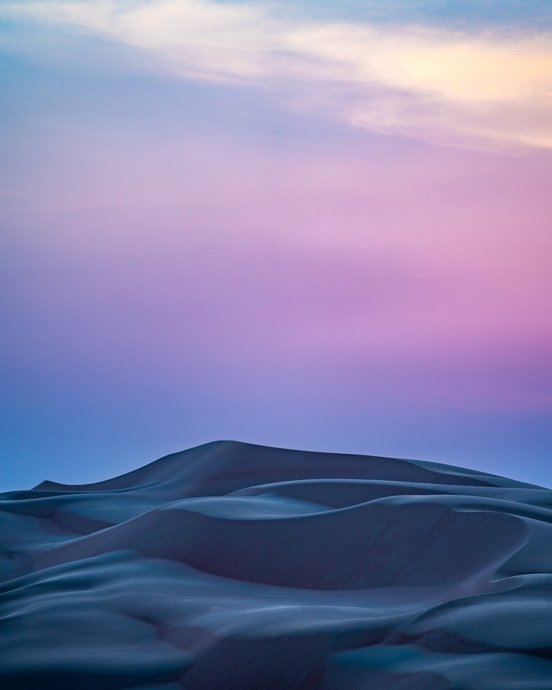 Blue Hour & Sand Dunes by Markus Lang