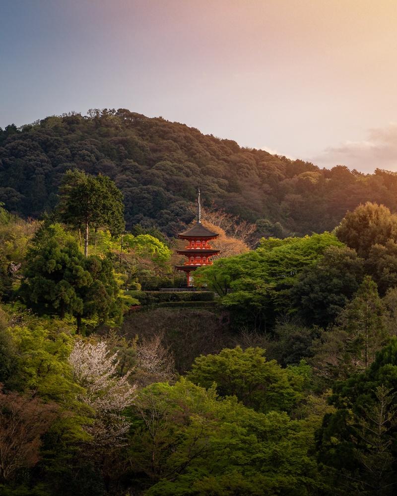 Kiyomizu-dera by Markus Lang