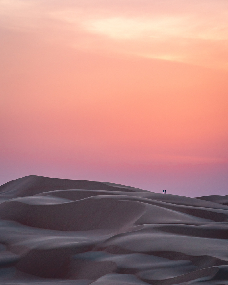 Sand Dunes & Sunset III by Markus Lang