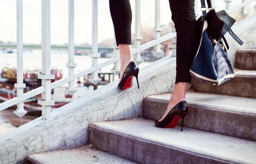 Famous red sole by Jonathan Jones