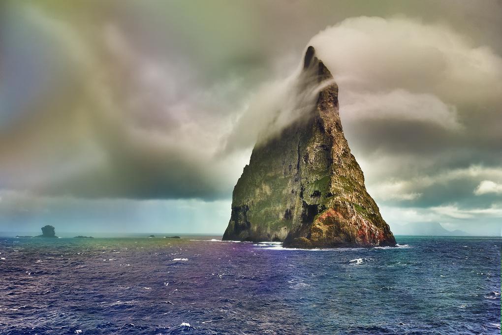 Balls Pyramid, Tasman Sea by Martin Stokic