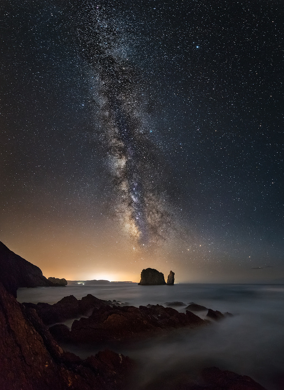 September Milky way by Ivan Pedretti