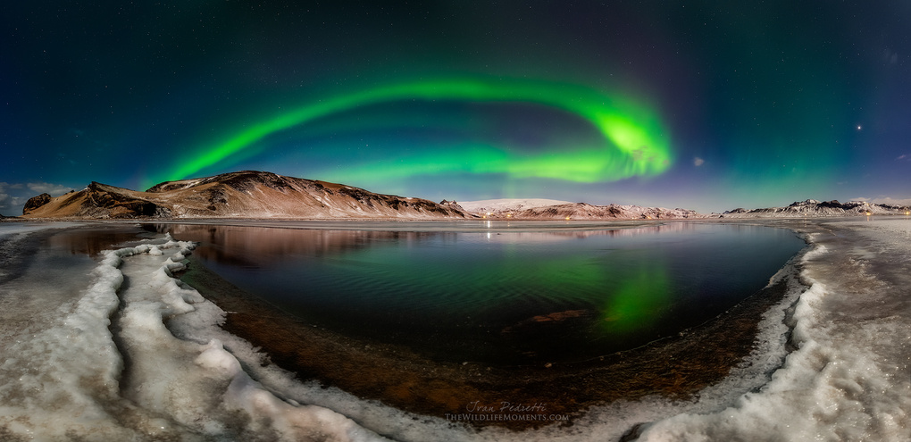 Aurora moonlight by Ivan Pedretti
