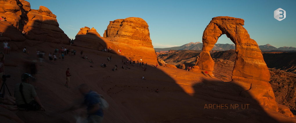Arches National Park, UT by Ronald Soethje