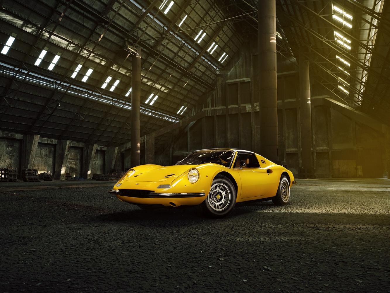 Ferrari Dino - Front by Jan Gonzales
