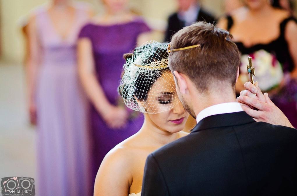 Wedding ceremony by Agnieszka Coufal