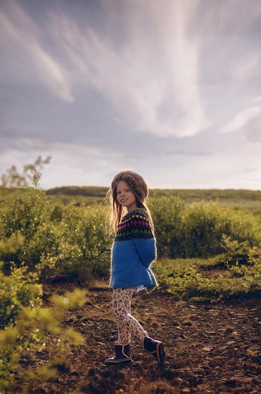 Summer girl by Iris Bergmann