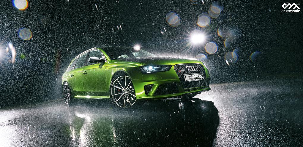 Audi RS4 AVANT by Arun M Nair