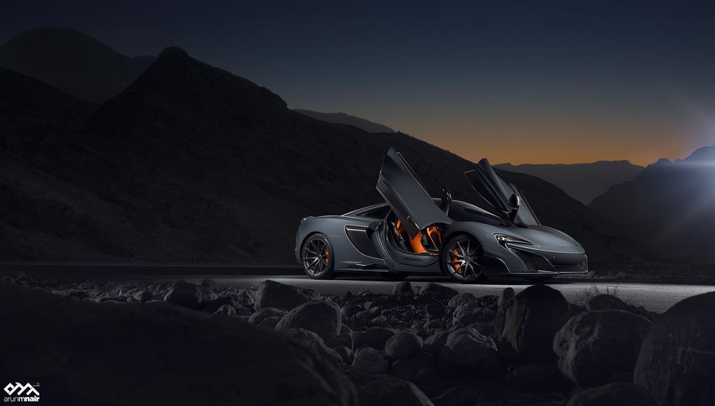 McLaren 675 LT by Arun M Nair