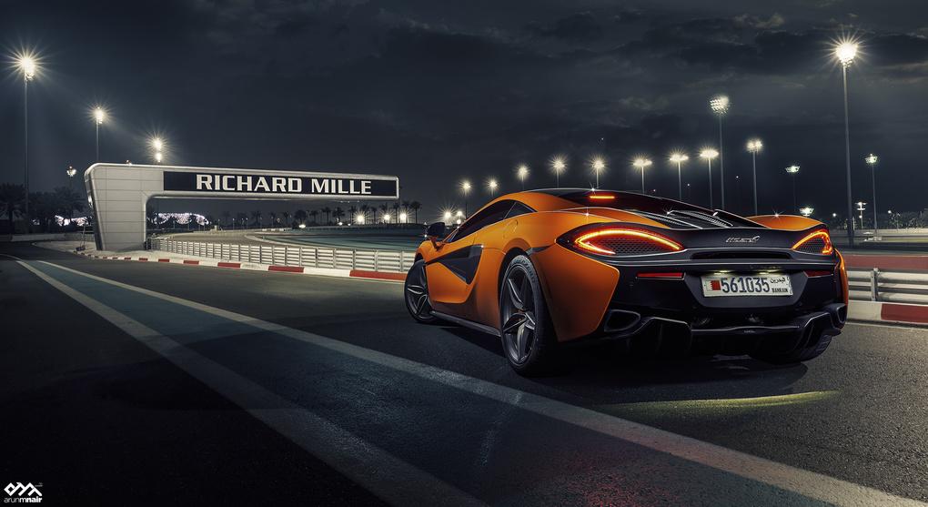 McLaren 570s by Arun M Nair