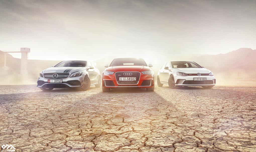 A45 petronas/Audi RS3/Golf GTI Clubsport by Arun M Nair