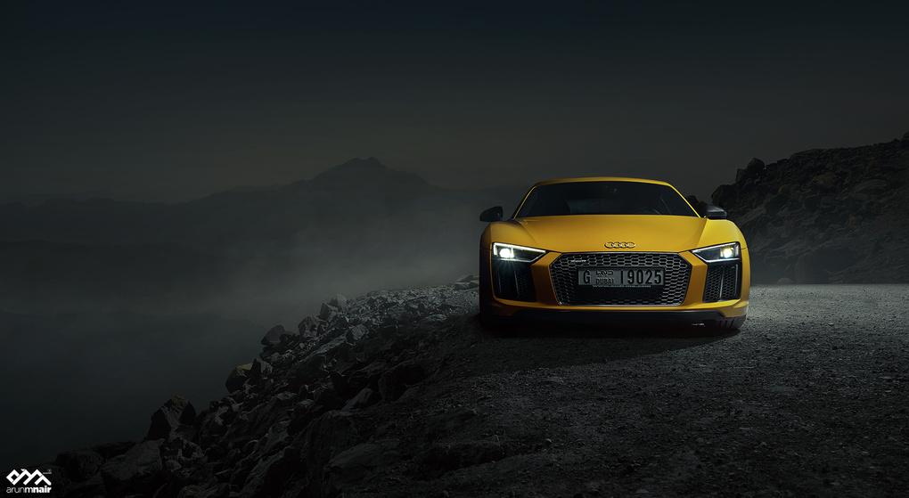 Audi R8 V10 Plus by Arun M Nair