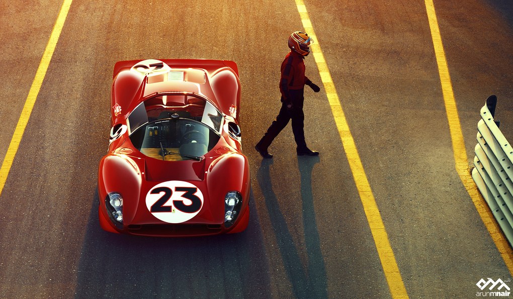Ferrari 330 P4 Norwood by Arun M Nair