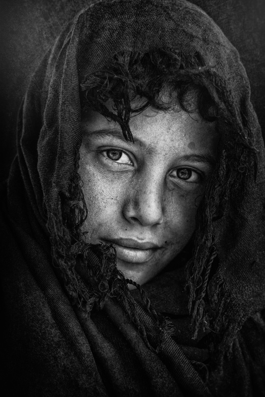 A Hopeful Smile by Mohammed Sattar