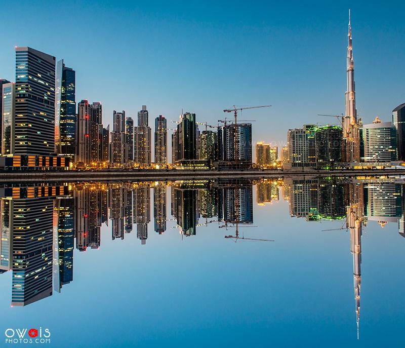 Dubai Skyline by Muhammad Owais Khan