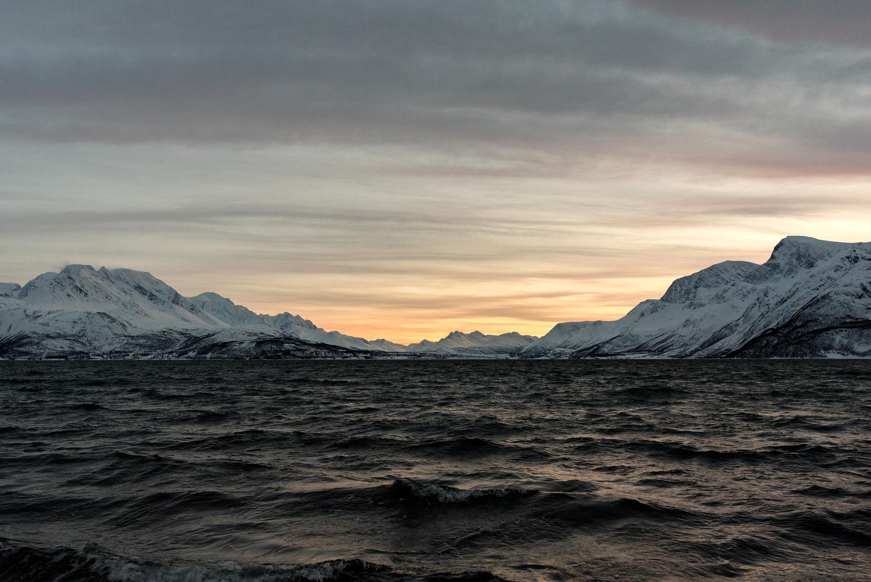 The range over Lyngen by Trushar Patel