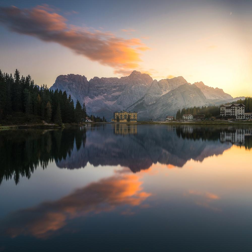 Lago di Misurina by Philip Slotte