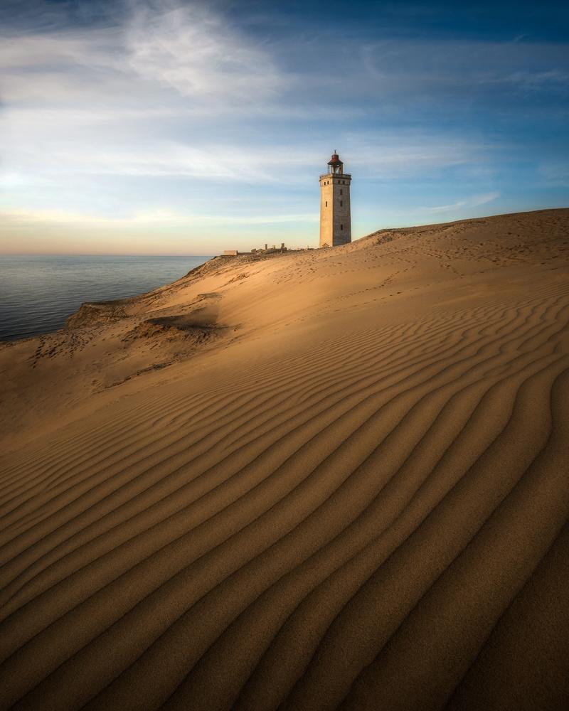 Desert Lighthouse by Philip Slotte