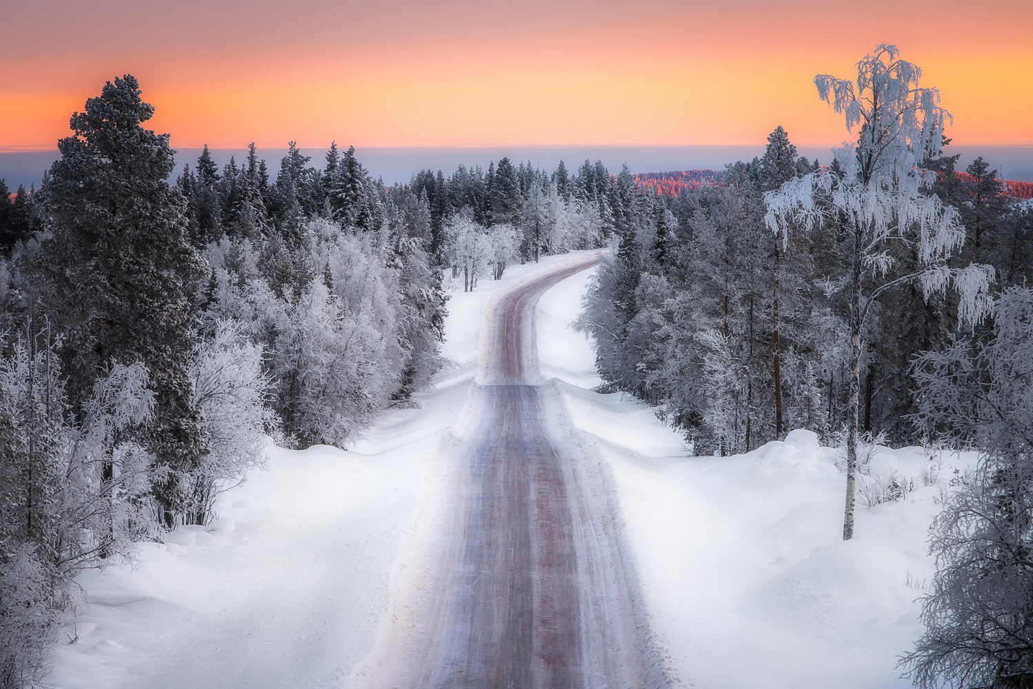 Winter Road by Philip Slotte