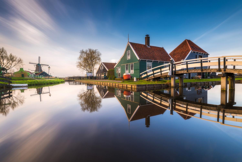 Zaanse Schans by Philip Slotte