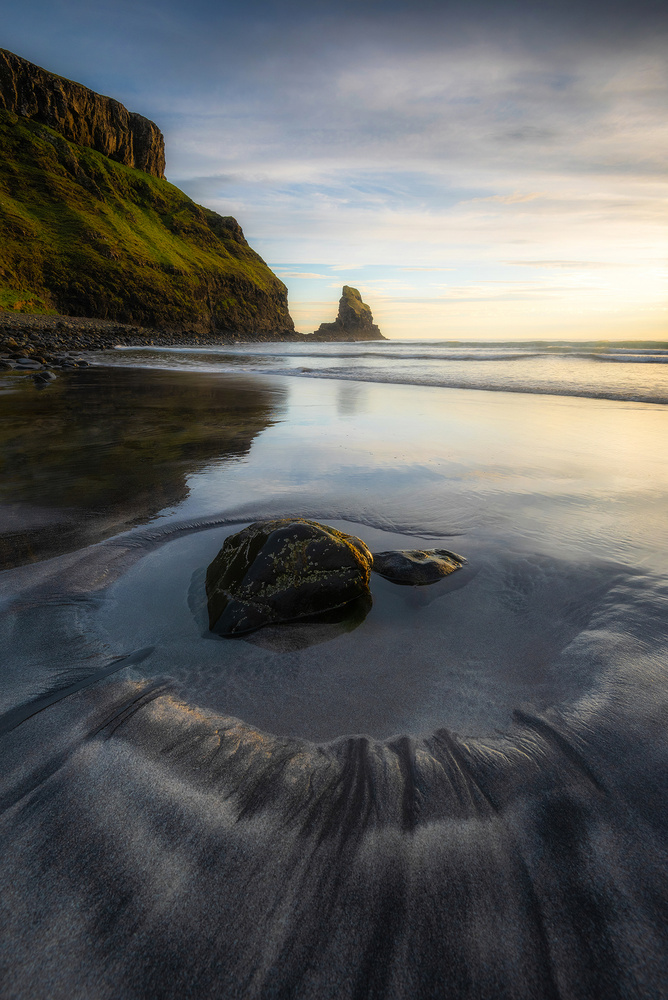 Talisker Bay Beach by Philip Slotte