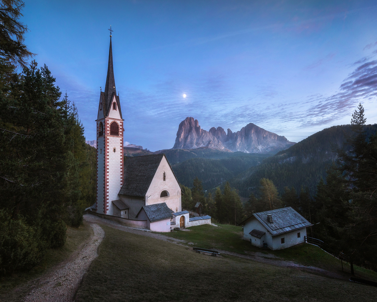 St. Jacob's church by Philip Slotte