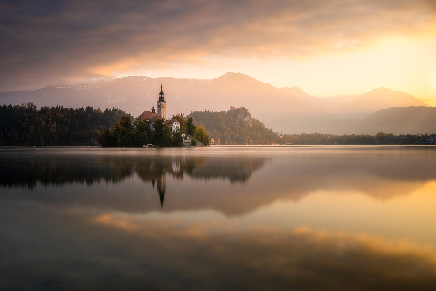 Morning in Bled by Philip Slotte