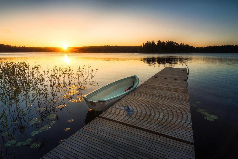 Summer sunrise by Philip Slotte