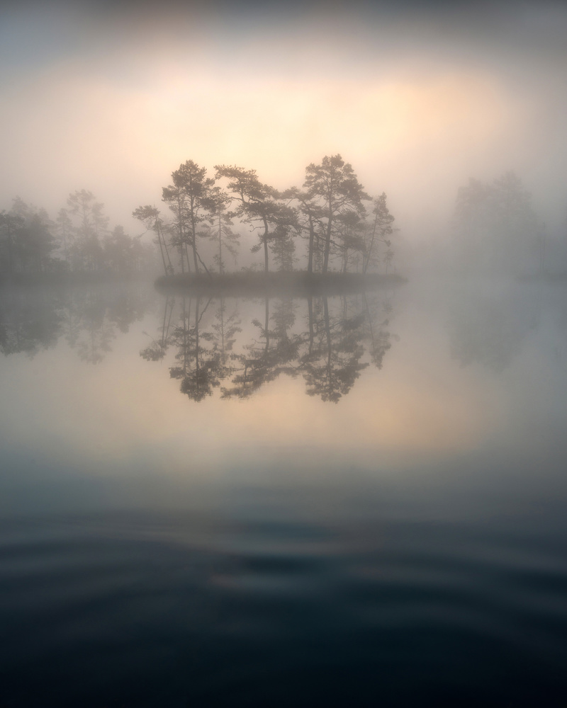 Foggy Lake by Philip Slotte
